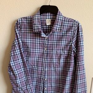 """J Crew """"The Perfect Shirt"""" size 6"""